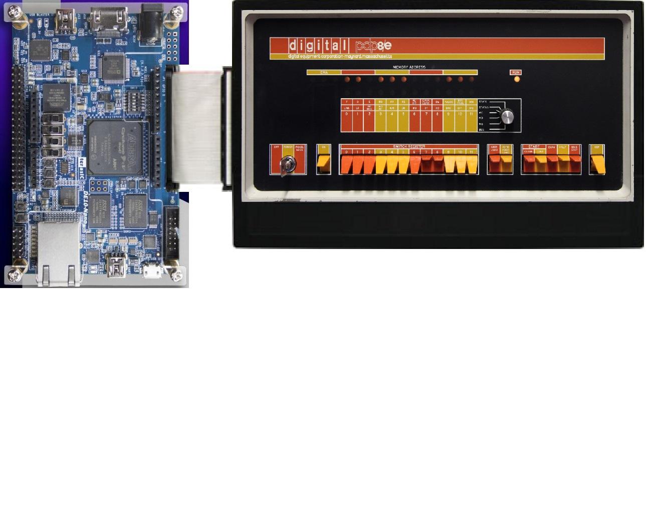 InnovateFPGA | APJ | AP035 - PDP-8/e compatible minicomputer with ...